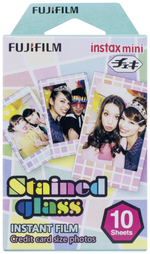 Fujifilm Instax Film mini Stained Glass