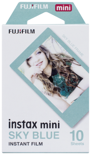 Fujifilm Instax Film mini blue frame