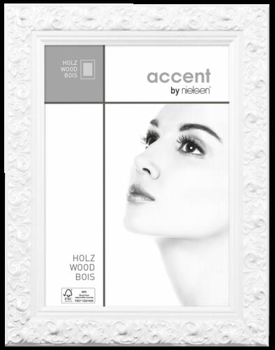 Nielsen Arabesque 30x40 Wood Portrait White