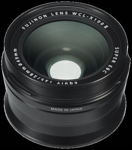 Fujifilm Wide Angle Converter WCL-X100 II black