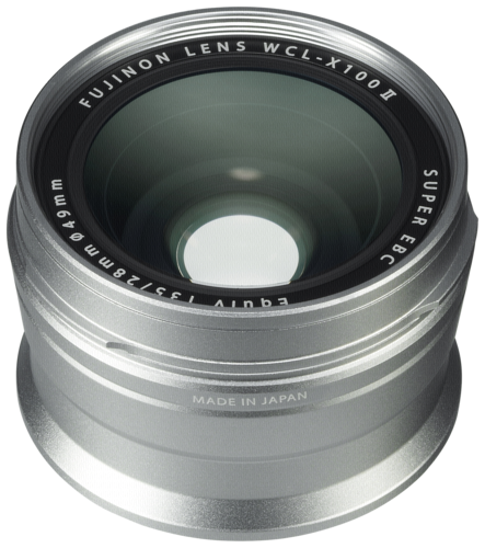 Fujifilm WCL-X100 II silver Wide Angle Converter