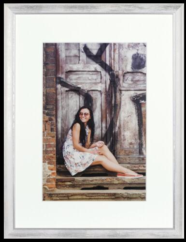 Henzo Aimee Wood 30x40 white