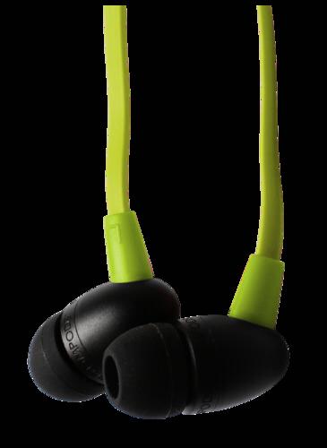 Boompods Tuffbuds Mic/Remote green