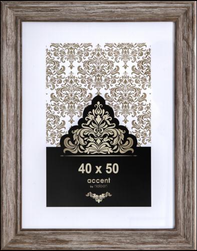 Nielsen Accent Vintage Wood 40x50 brown