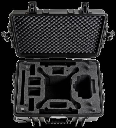 B&W Copter Case Type 6700 black DJI Phantom 4 Pro Inlay