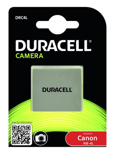 Duracell Canon NB 4L 720mAh