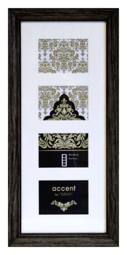 Nielsen Accent Vintage Wood 4x10x15 black