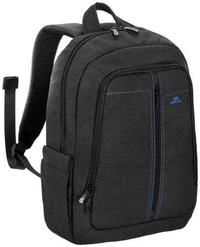 Rivacase 7560 Backpack 15,6 Black Canvas