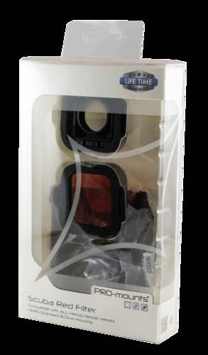 PRO-mounts Scuba Red Filter HERO4/3/3+