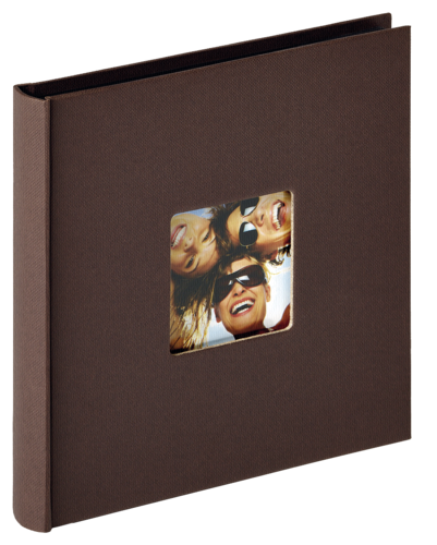 Walther Fun dark brown 18x18 - 30 black pages