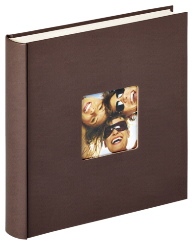 Walther Fun dark brown 30x30 - 100 pages