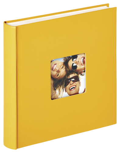 Walther Fun yellow 30x30 - 100 pages