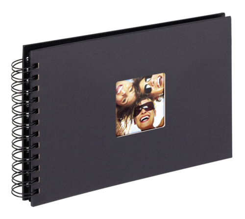 Walther Fun black Spiral 23x17 - 40 black pages