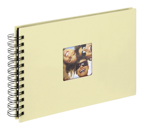 Walther Fun creme Spiral 23x17 - 40 black pages
