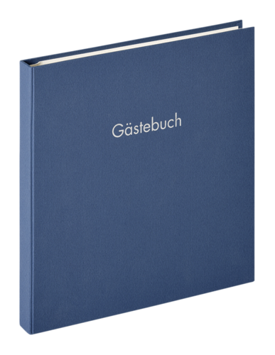 Walther Fun Guestbook blue 26x25 - 50 pages