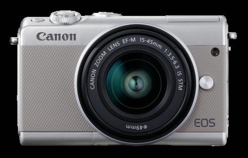 Canon EOS M100 Grey Kit EF-M 15-45mm + EF-M 22mm STM