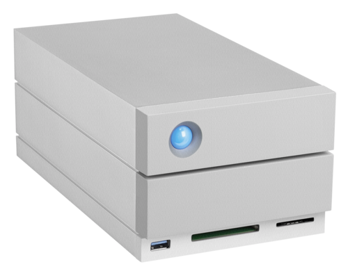 LaCie 2big Dock USB-C 8TB Thunderbolt 3 USB 3.0
