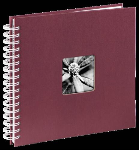 Hama Fine Art Spiral Bordeaux 28x24 - 50 white pages