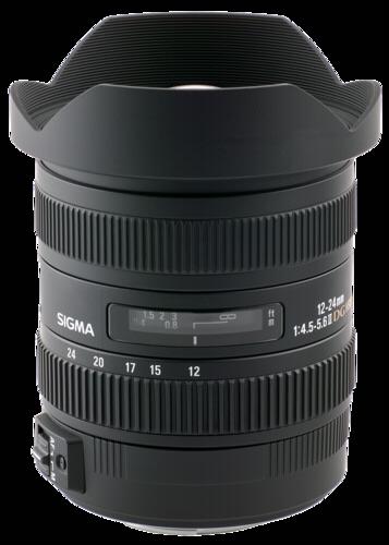 Sigma 12-24mm f/4.5-5.6 DG HSM II Canon