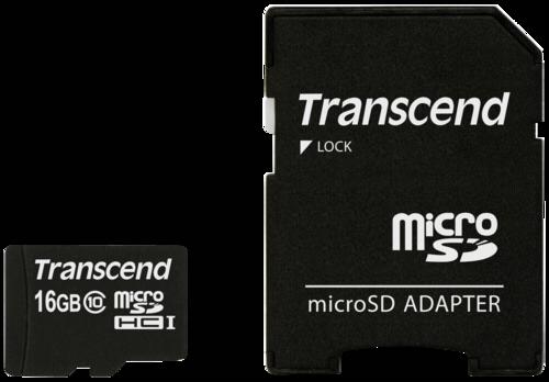 Transcend MicroSDHC Karte   16GB
