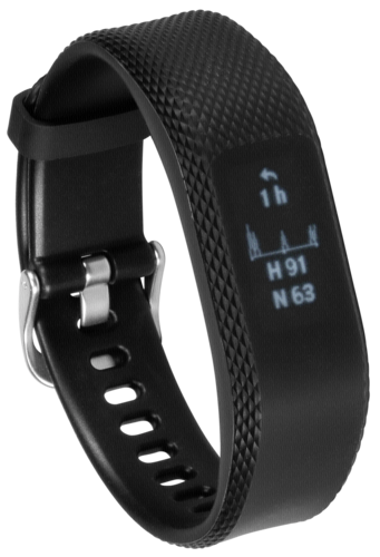 Garmin vivosmart 3 World black L