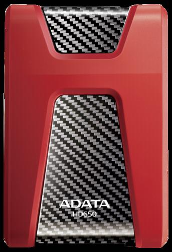 Adata externe HDD HD650 Red 2TB USB 3.0
