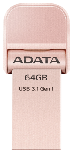 Adata OTG AI920 Rose Gold 64GB Lightning on USB 3.1
