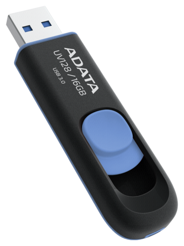 Adata UV128 Black/Blue 16GB USB 3.0