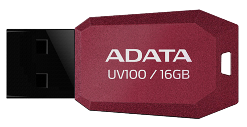 Adata UV100 Red 16GB USB 2.0