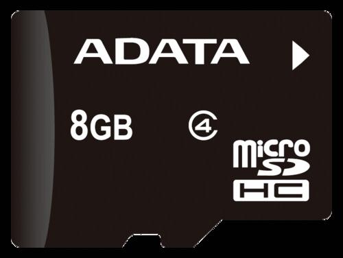 Adata microSDHC 8GB Class 4