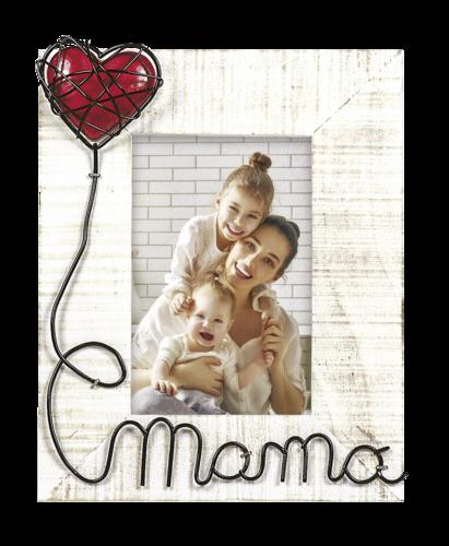ZEP Maria Ve Mama 10x15 Wooden Portrait