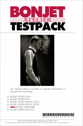 Bonjet Atelier Testpack A 4 6x2 Sheets