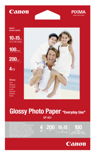 Canon GP-501 Glossy 10x15cm 210gr (100 sheets)