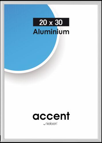 Nielsen Accent Silver Matt Aluminium 20x30cm