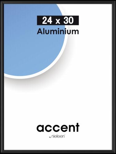 Nielsen Accent Black Aluminium 24x30cm