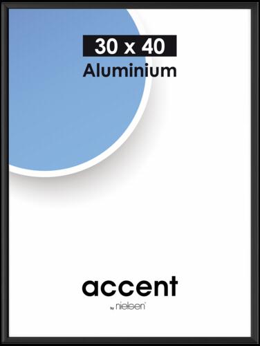 Nielsen Accent Aluminium 30x40 black