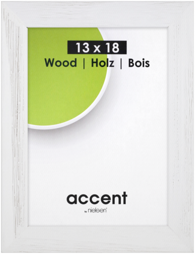 Nielsen Accent Magic Wood 13x18 white