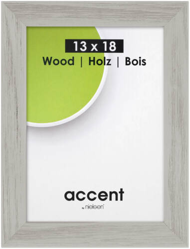 Nielsen Accent Magic Wood 13x18 grey