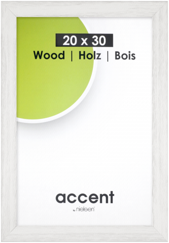 Nielsen Accent Magic Wood 20x30 white
