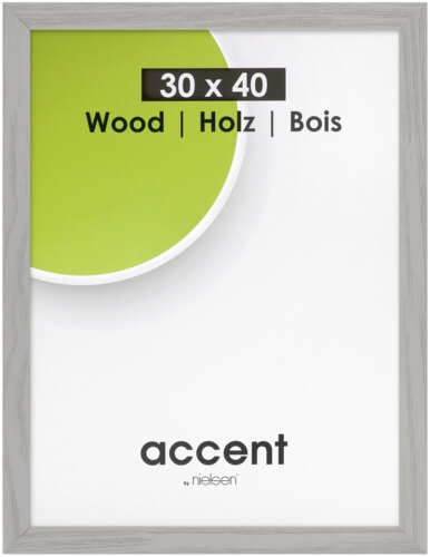 Nielsen Accent Magic Wood 30x40 grey