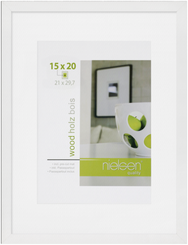 Nielsen Apollo Wood 21x29.7 white
