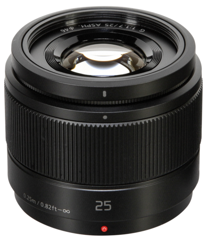Panasonic Lumix G 25mm f/1.7