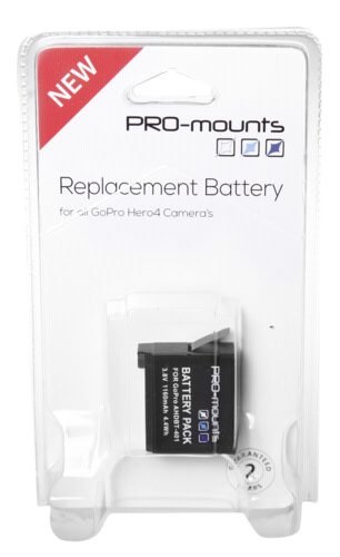 PRO-mounts Replacement Battery HERO4