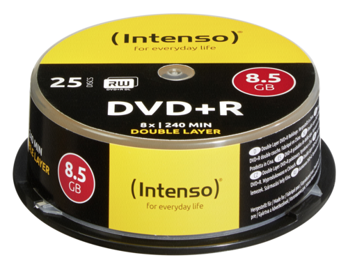 Intenso DVD+R 8.5GB 8x 1x25