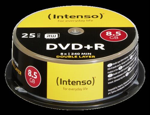 Intenso DVD+R 8.5GB 8x 1x25