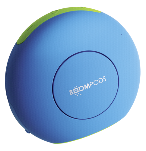 Boompods Doubleblaster 2 blue/green