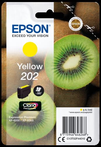 Epson Cartridge T02F4 Claria Premium yellow