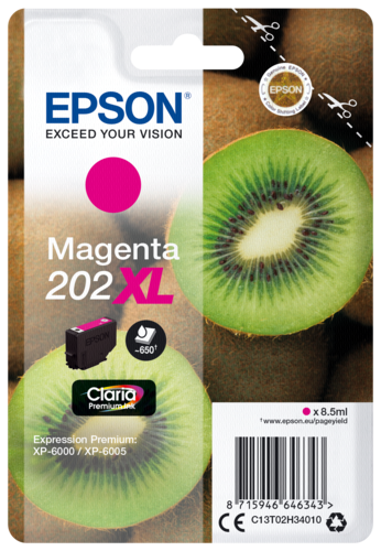 Epson Cartridge T02H3 Claria Premium magenta XL