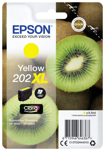 Epson Cartridge T02H4 Claria Premium yellow XL