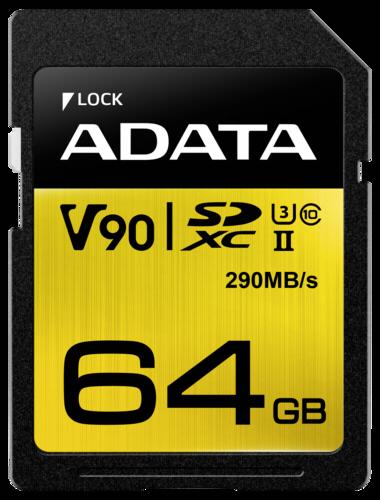 Adata Premier One SDXC 64GB UHS-II U3